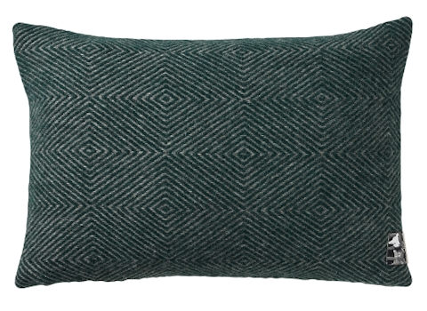 Kussenhoes Diamant green 40x60