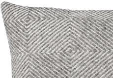 Kussenhoes Diamant grijs 40x60 dessin