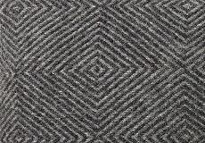 Kussenhoes Diamant zwart 40x60 dessin