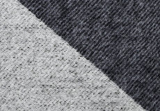 Kussenhoes Focus on Twist darkgrey 40x40 dessin