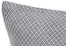 Kussenhoes Peak steel grey detail