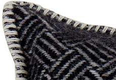Kussenhoes Samba zwart detail