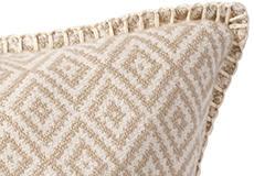 Kussenhoes Stella beige detail