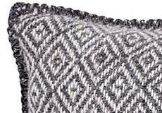 Kussenhoes Stella coke grey detail