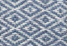 Kussenhoes Stella smokey blue dessin