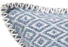 Kussenhoes Stella smokey blue detail