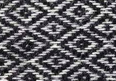 Kussenhoes Stella zwart dessin