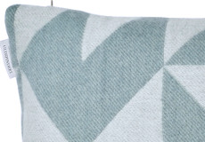Kussenhoes Twist a Twill ocean grey 40x60 detail