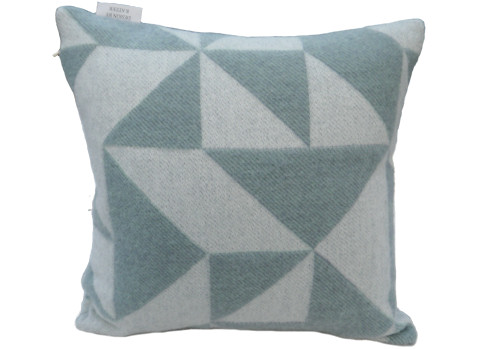 Kussenhoes Twist a Twill ocean grey 40x40